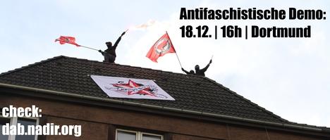 Kommt zur Antifa-Demo am 18.12.2010 um 16 Uhr nach Dortmund!