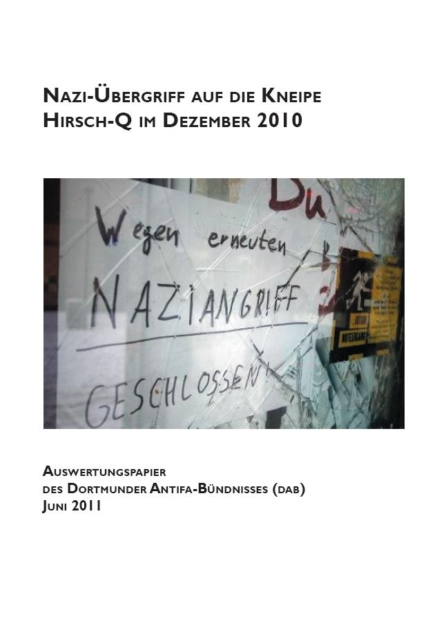 Auswertungspapier des Dortmunder Antifa-Bündnisses