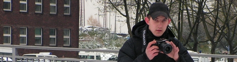 "Dortmunder \""Anti-Antifa\""-Fotograf Alexander Deptolla im Jahr 2005"