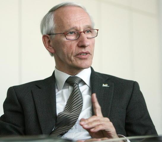 Polizeipräsident Hans Schulze. Foto: Dieter Menne
