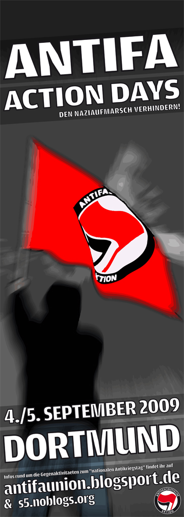 antifa action days 2009 - Dortmund